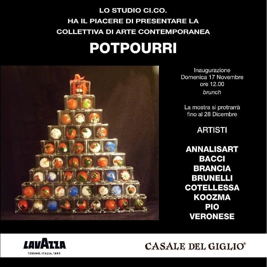 MOSTRA-POTPOURRI-Galleria-Studio-CiCo-un-portale-per-la-vendita-di-opere-darte-onlineGalleria Studio CiCo