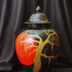 Vaso-Oriente-luna-rossa-terracotta-dipinta-ad-olio-h-45cm-300x300Cinzia Cotellessa