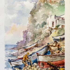 Giovanni-di-Stefano-Pescatori-di-Salina-Acquerello-35x50-1980-300x300Giovanni Di Stefano