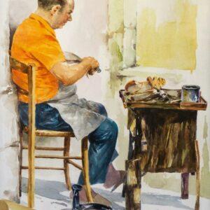 Giovanni-Di-Stefano-Il-ciabattino-Acquerello-50x70-1981-300x300Il nostro Store