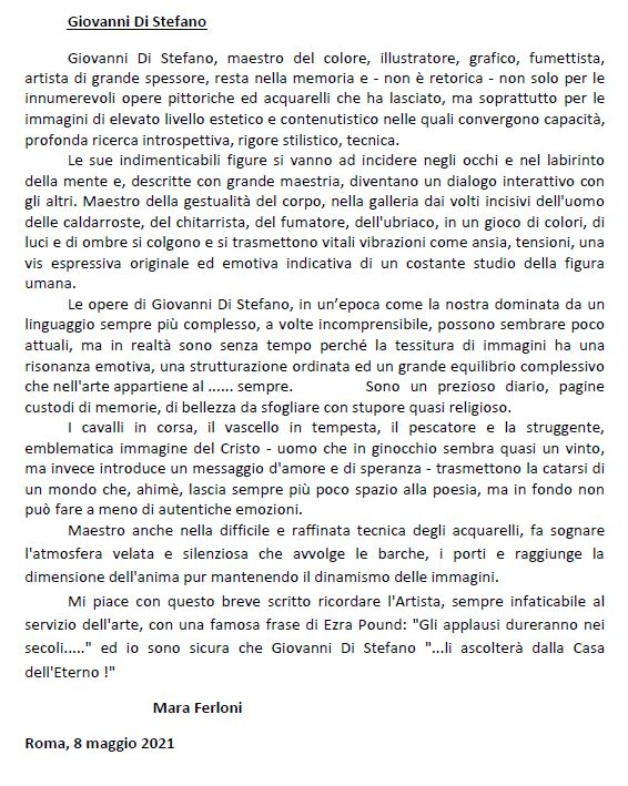 Recensione-Mara-Ferloni-1Giovanni Di Stefano