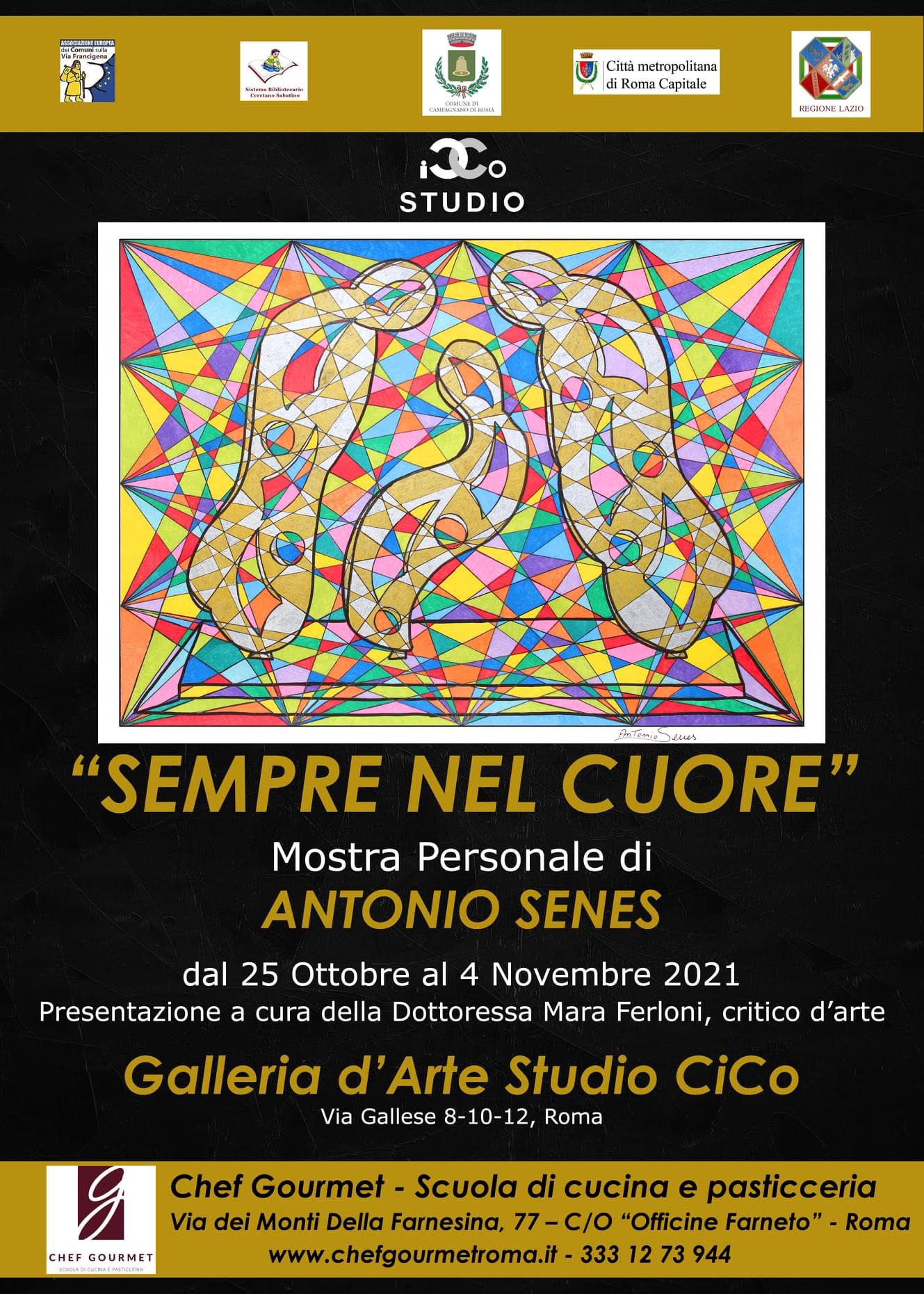 Mostra-Antonio-SenesiGalleria Studio CiCo