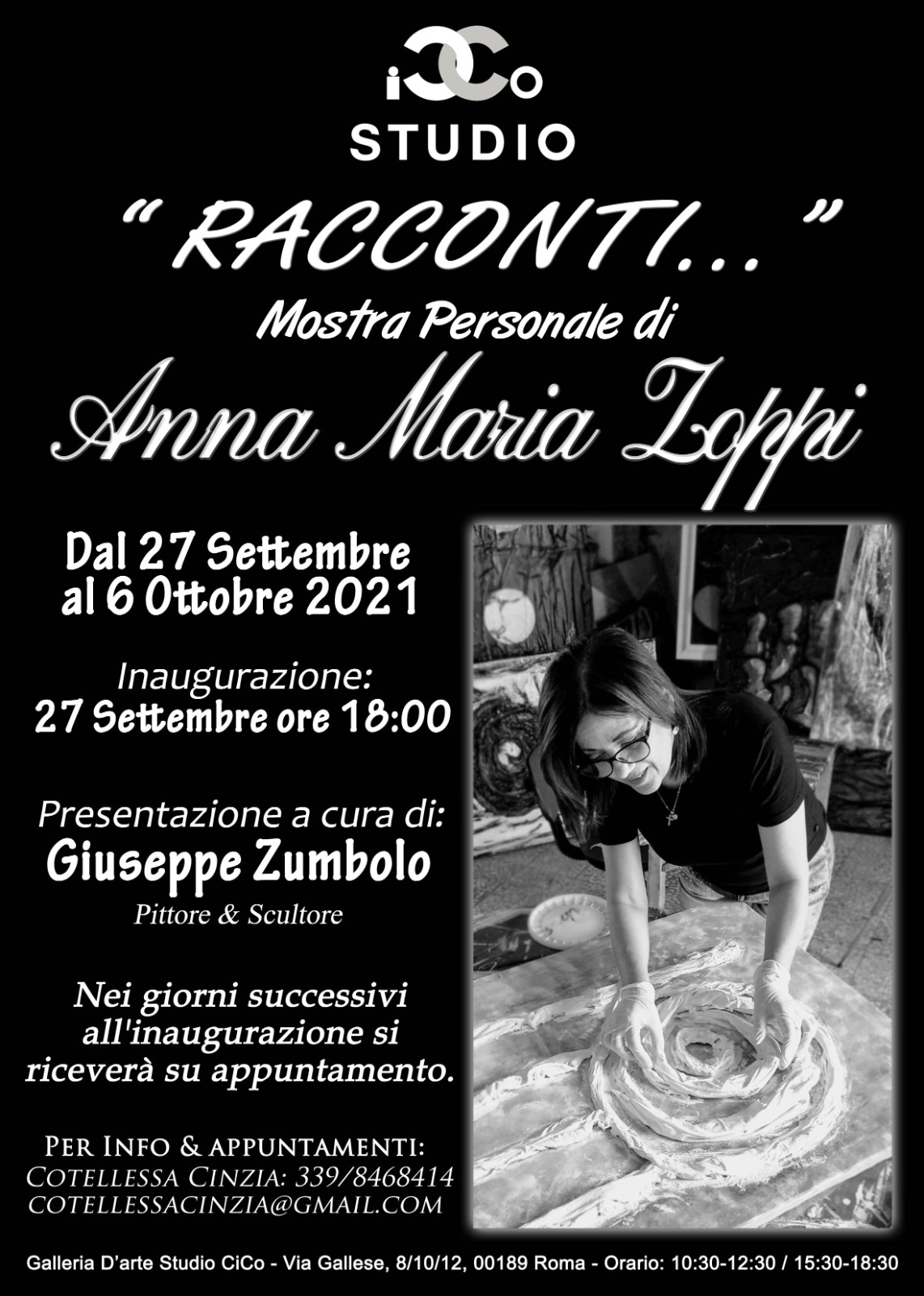 Mostra-Artista-ZoppiGalleria Studio CiCo